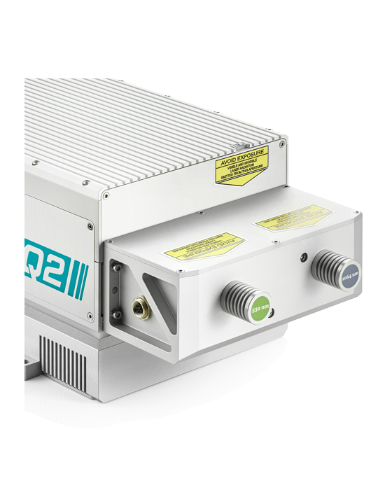 Compact Second Harmonic Generator SHG for Q2/Q2HE lasers